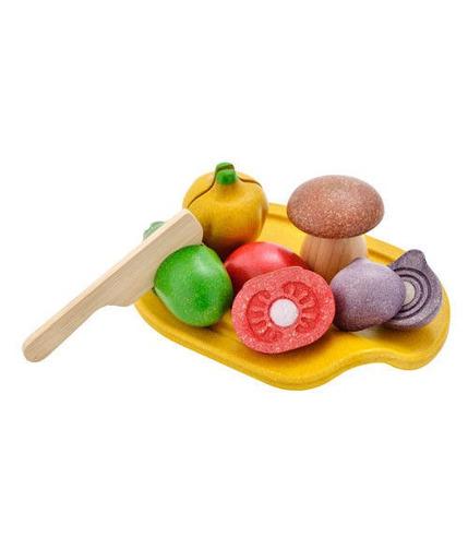 Plan Toys, Warzywa z deską do krojenia