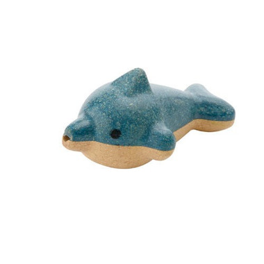Plan Toys, Drewniany gwizdek delfin