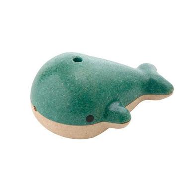 Plan Toys, Drewniany gwizdek wieloryb