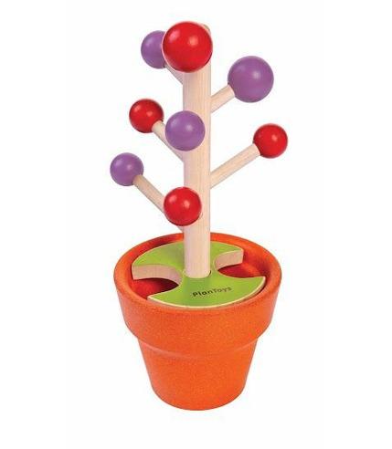Plan Toys, Zbierz jagody - drewniana zabawka zręcznościowa