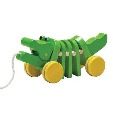 Plan Toys, Drewniany krokodyl do ciągnięcia