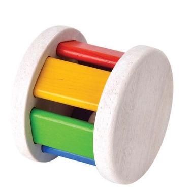 Plan Toys, Drewniana grzechotka Roller