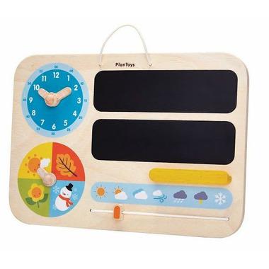 Plan Toys, Mój pierwszy kalendarz - zabawka drewniana