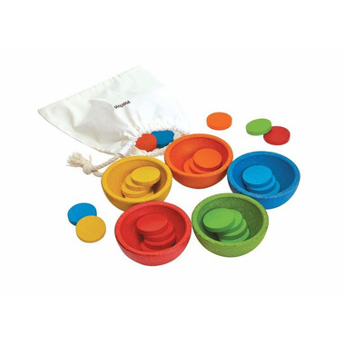 Plan Toys, Sortuj i licz kolorowe