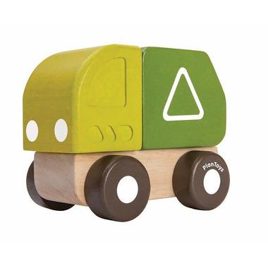 Plan Toys, Mini autko - śmieciarka