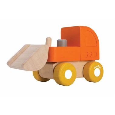 Plan Toys, Mini autko - buldożer
