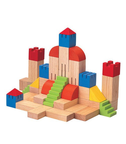 Plan Toys, Drewniane klocki kreatywne