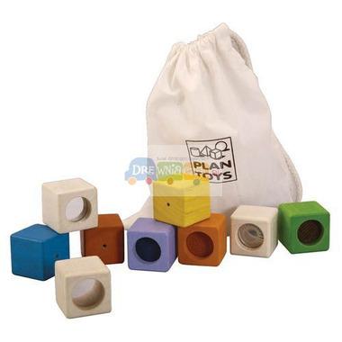 plan toys, Klocki interaktywne w woreczku