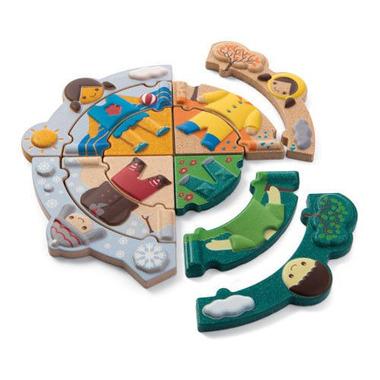 plan toys, Układanka ubranka na każdą porę roku