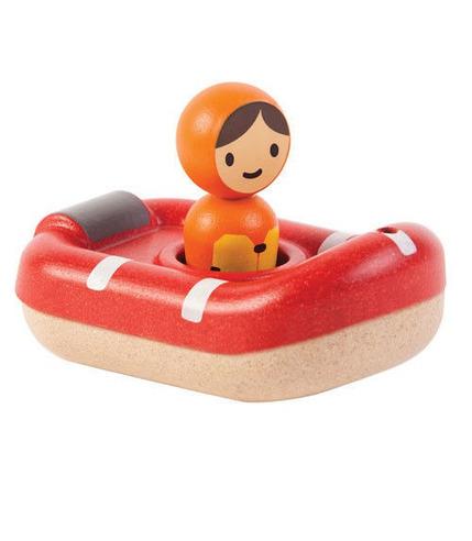 plan toys, Łódź ratownicza - zabawka do kąpieli