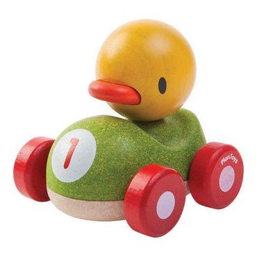 plan toys, Drewniana wyścigówka kaczka