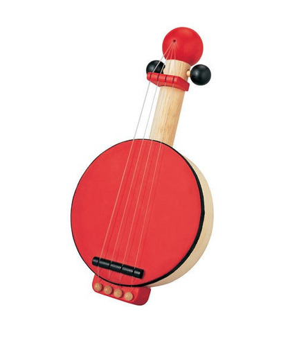 plan toys, Drewniane banjo