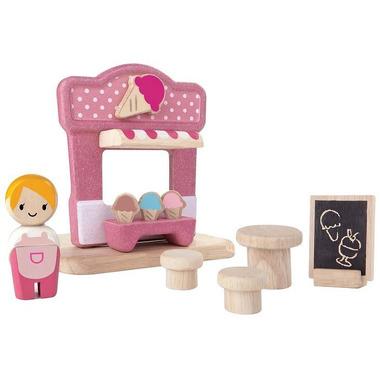 plan toys, Zestaw zabawek - wzór lodziarnia