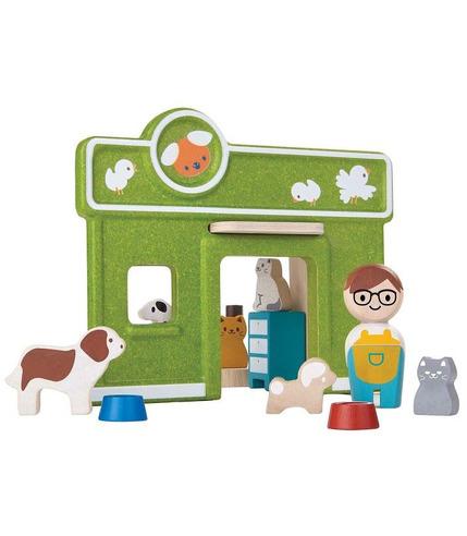 plan toys, Zestaw zabawek - wzór weterynarz