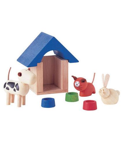 plan toys, Zwierzątka domowe z akcesoriami
