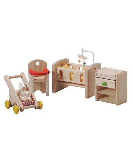 plan toys, Mebelki dla lalek pokój niemowlaka