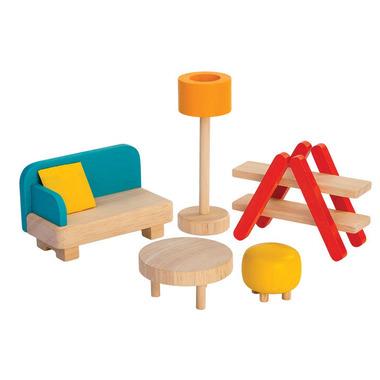 plan toys, Mebelki dla lalek Salon