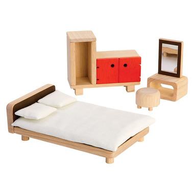 plan toys, Mebelki dla lalek Sypialnia