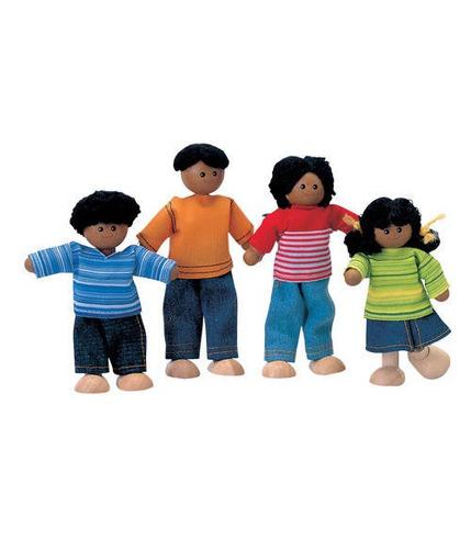 plan toys, Rodzina ciemnoskórych lalek