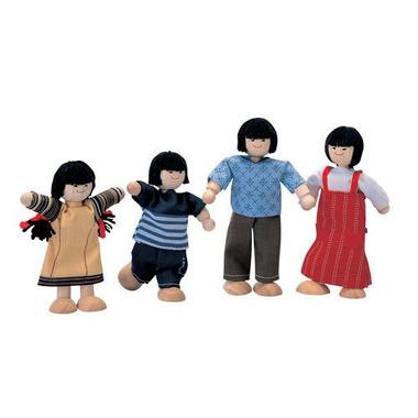 plan toys, Rodzina skośnookich lalek