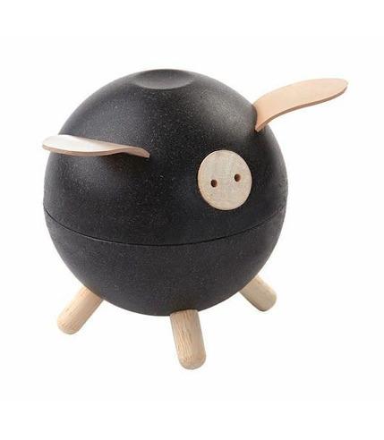 plan toys, Skarbonka świnka, kolor czarny
