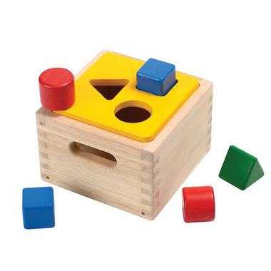 plan toys, Skrzynia z figurami geometrycznymi