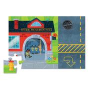 Crocodile Creek, Puzzle 24 elementy, Straż pożarna