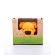 Gryzak koala - 100% BIOplastik pomarańczowy