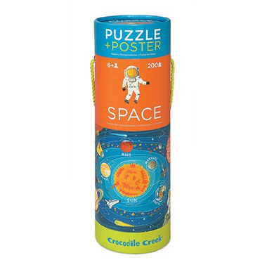 Crocodile Creek, Puzzle 200 elementów, wzór Kosmos
