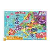 Crocodile Creek, Puzzle 200 elementów, wzór Mapa Europy