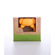 Gryzak koala z uchwytem - 100% BIOplastik  pomarańczowy