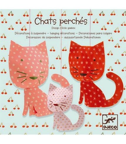 Kotki - składanka papierowa  Djeco