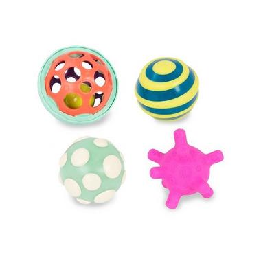 Btoys, Zestaw wyjątkowych piłek sensorycznych z piłką świecącą