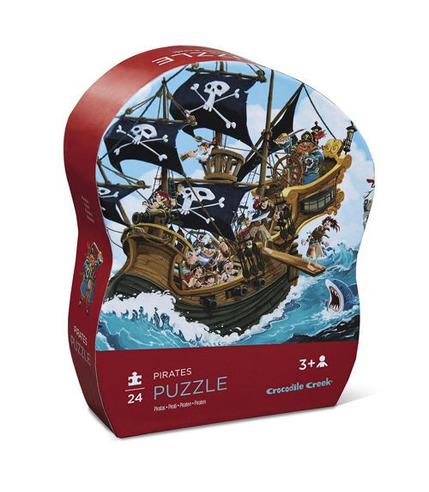 Crocodile Creek, Puzzle 24 elementy, Statek piracki