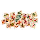 Drewniane Domino ze Zwierzątkami  Djeco