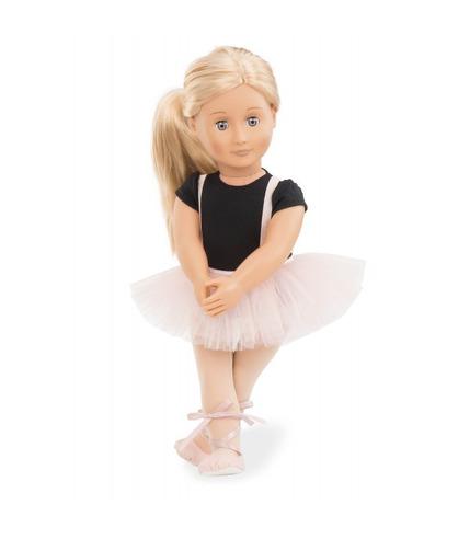 Our Generation, Lalka Violet Anna 46cm - Baletnica
