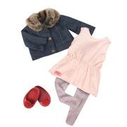 Our Generation, Zestaw ubranek dla lalki 46cm - Just Fur You
