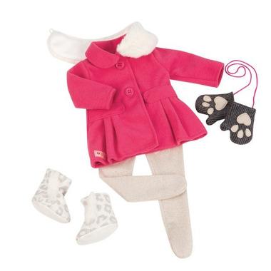 Our Generation, Zestaw ubranek DELUXE dla lalki 46cm - Snow Sweet