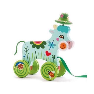 Djeco, zabawka do ciągnięcia Krowa
