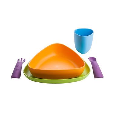 Zestaw obiadowy dla dzieci - 100% BIOplastik