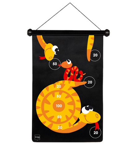Scratch, Rzutki magnetyczne Robaczki
