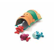 Lilliputiens, Zabawki do wody Miś Cesar i Rybki z Neoprenu Bath Time Fish