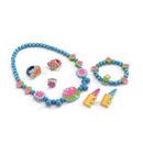 Zestaw biżuterii drewnianej Wodne lilie Djeco
