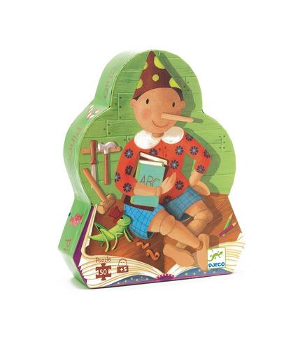 Puzzle w pudełku Pinokio