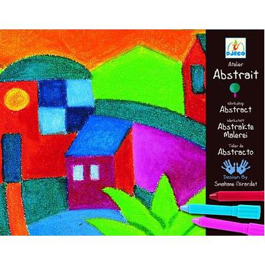 Djeco, zestaw artystyczny abstrakcja