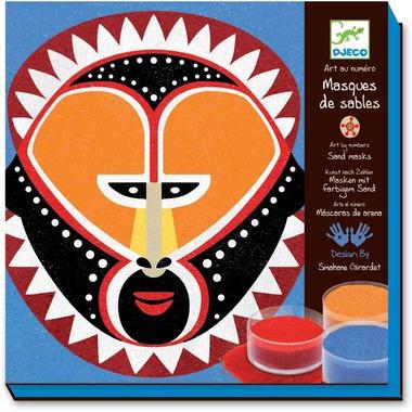Djeco, zestaw Artystyczny maski Indian