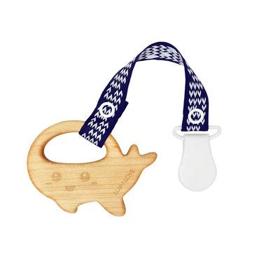 Lullalove, Wieloryb MaMari - gryzak z drewna klonowego z zawieszką