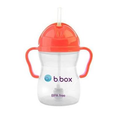B.Box, Innowacyjny kubek niekapek z rurką neon arbuzowy