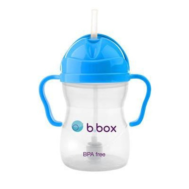 B.Box, Innowacyjny kubek niekapek z rurką neon kobaltowy