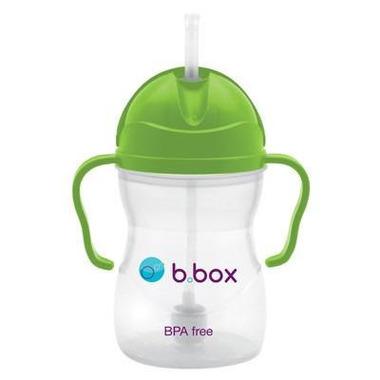 B.Box, Innowacyjny kubek niekapek z rurką zielony